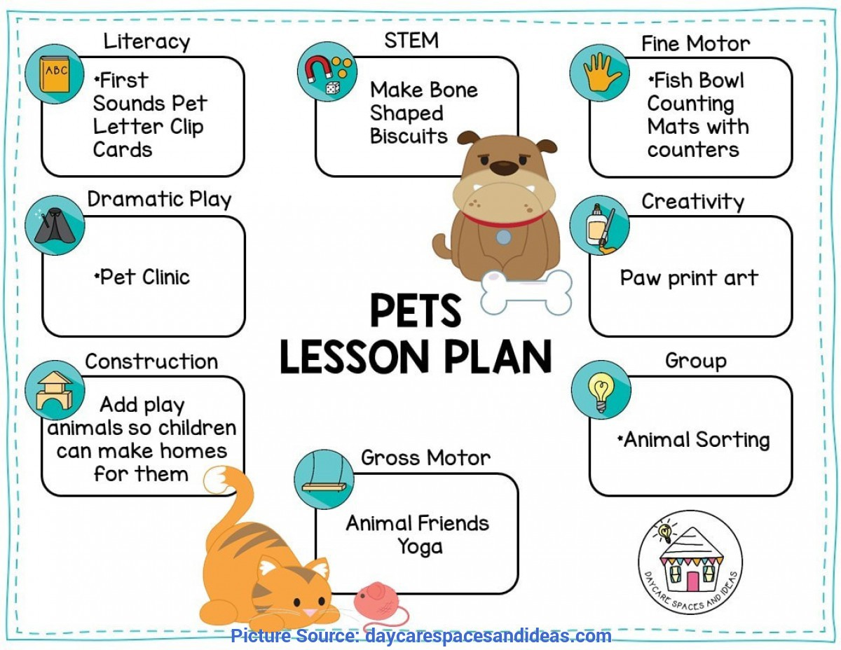 Typical Preschool Lesson Plans Veterinarians Pets Amp Vets