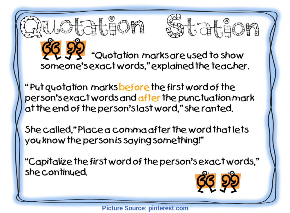 medium resolution of Unusual 3Rd Grade Lesson Plans On Quotation Marks First Grade Wow: Anchor  Chart#repin By:pinterest++ For Ipa - Ota Tech