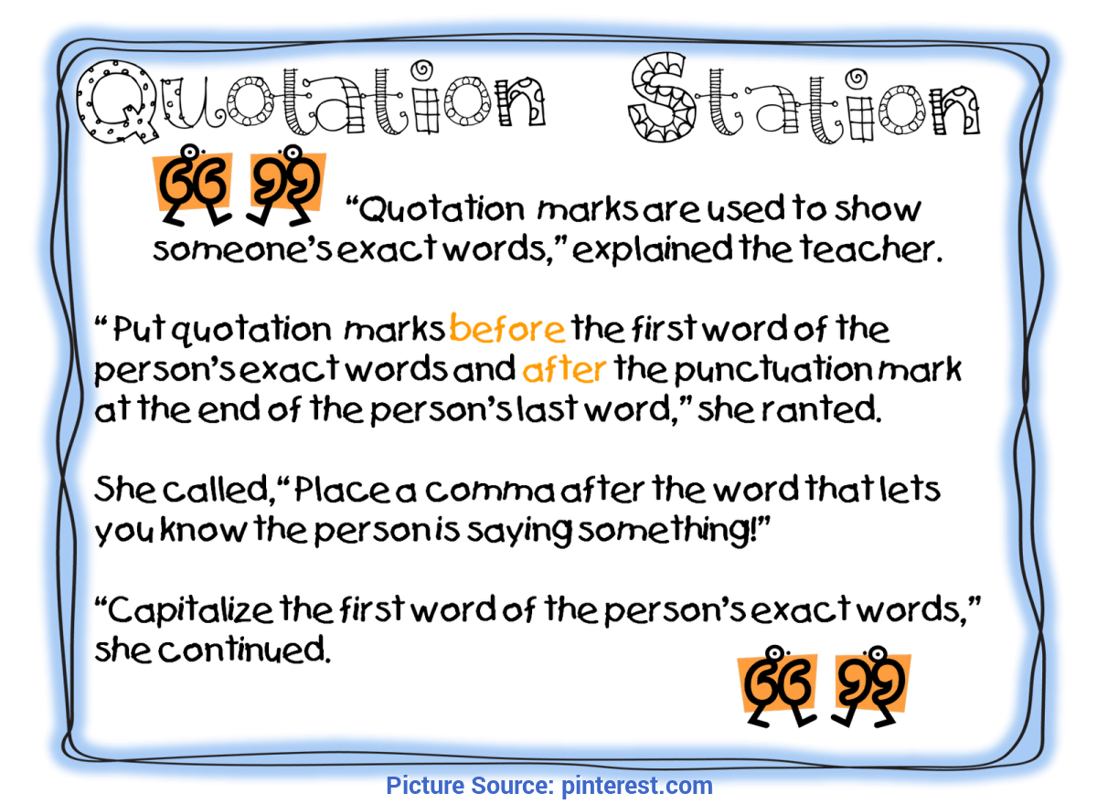 hight resolution of Unusual 3Rd Grade Lesson Plans On Quotation Marks First Grade Wow: Anchor  Chart#repin By:pinterest++ For Ipa - Ota Tech