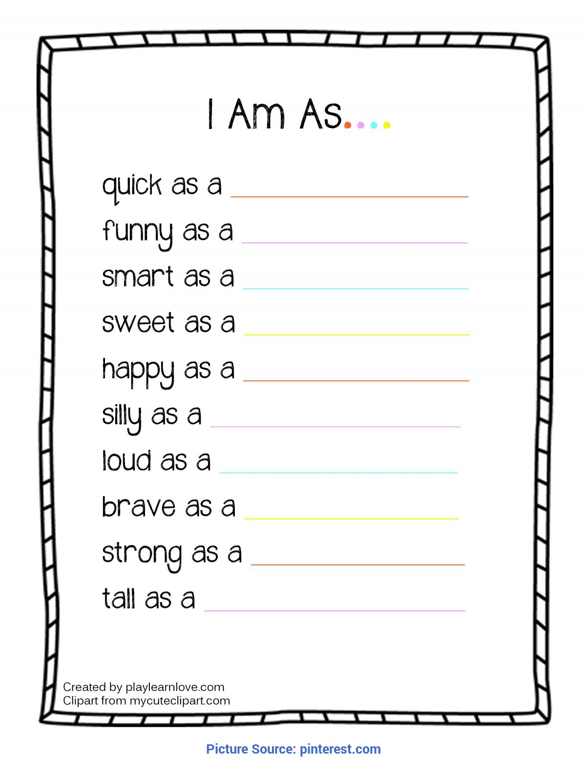 Useful Free Printable Toddler Curriculum All About Me I