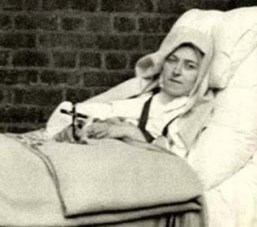SAINT THERESE OF LISIEUX, SICK IN BED