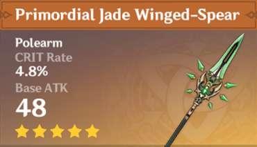 Lança Primitiva de Jade