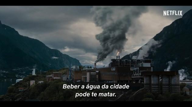 Imagem do trailer que revela a poluição em Edda - Crítica da 2ª temporada de Ragnarok - OtaGeek