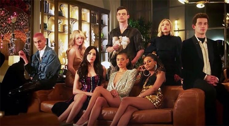 Foto promocional com o elenco do reboot de Gossip Girl Otageek