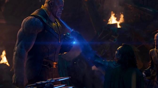Loki tenta apunhalar Thanos em Vingadores: Guerra Infinita - Otageek