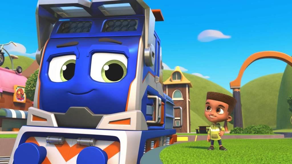 Protagonista da animação Mighty Express.