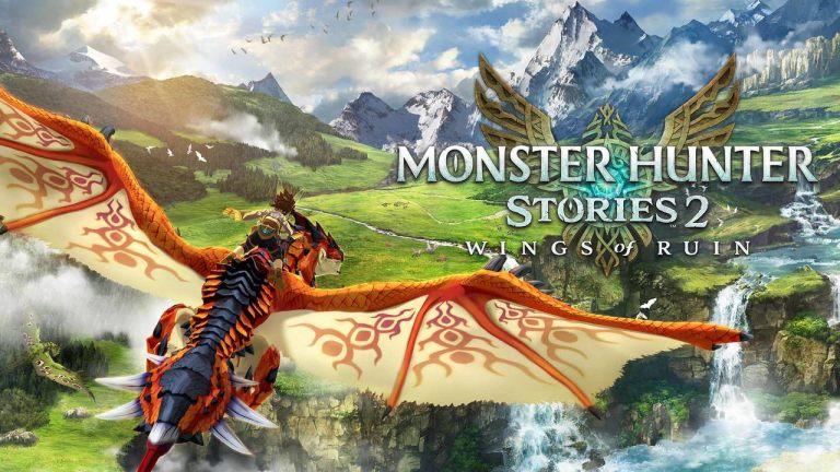 Capa do jogo Monster Hunter Stories 2
