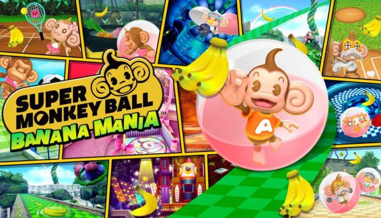 poster do jogo Super Monkey Ball: Banana Mania para Nintendo Switch - Otageek