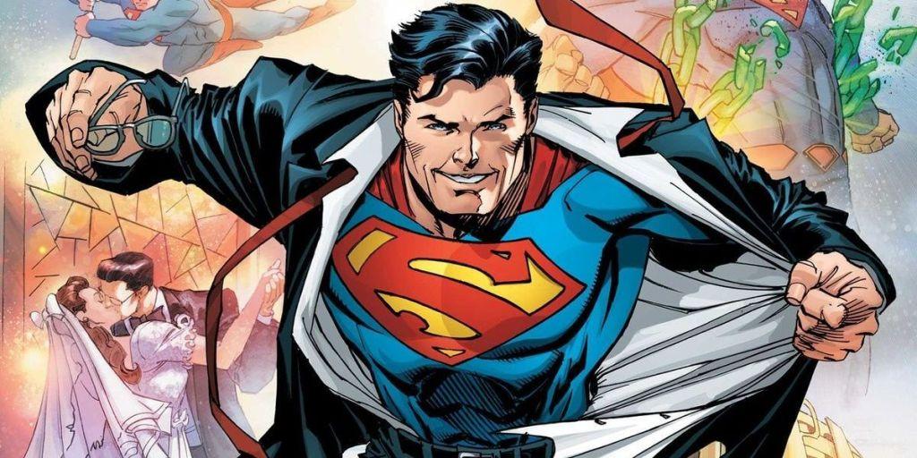 Imagem do quadrinho do Superman