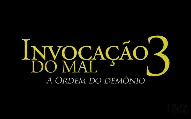 Logo do filme Invocação do Mal 3: A origem do demônio.