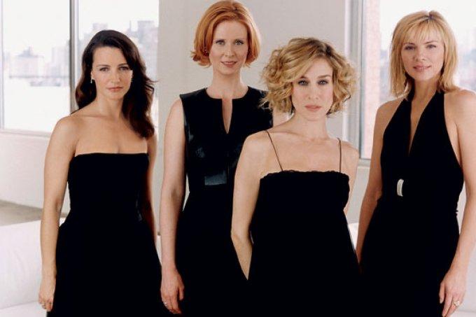 Quarteto de Sex and City, série disponivel na HBO MAX