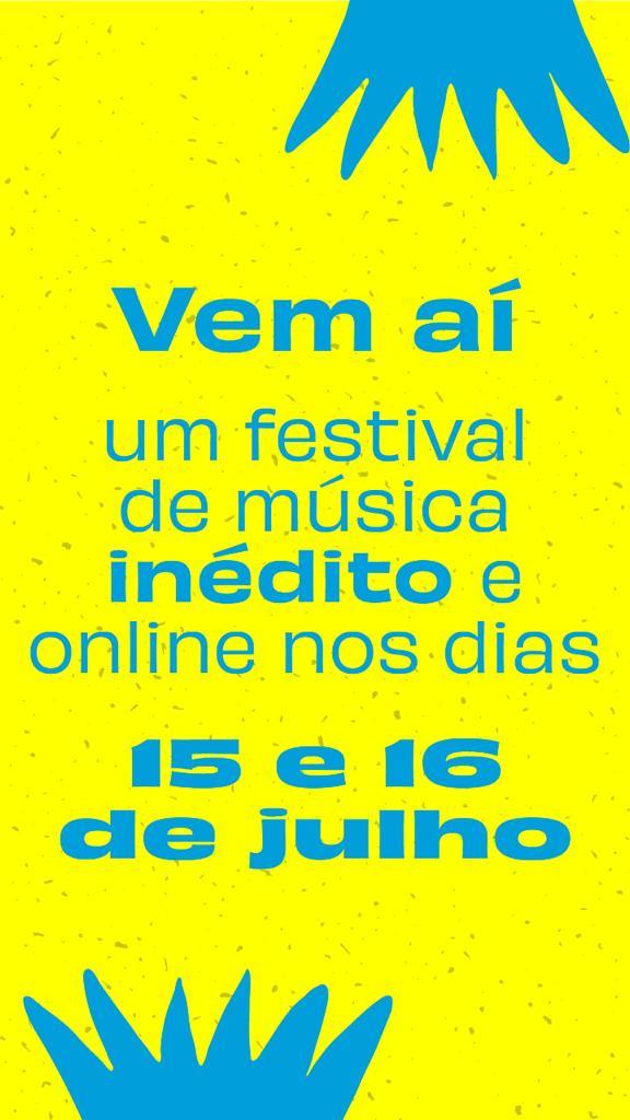 A arte convida os leitores a assistirem as lives do Festival ONU #CadaUmDeNós nos dias 15 e 16 de julho. Otageek