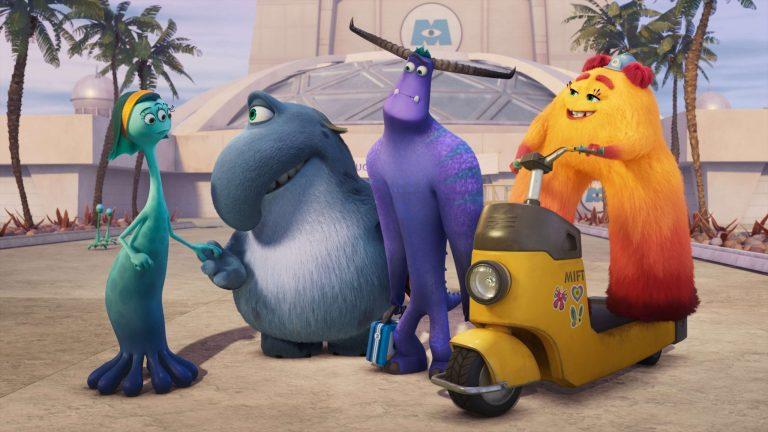 Novos personagens de Monstros no Trabalho