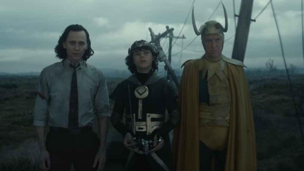 Loki, Kid Loki e Velho Loki em imagem do episódio 5 - Otageek