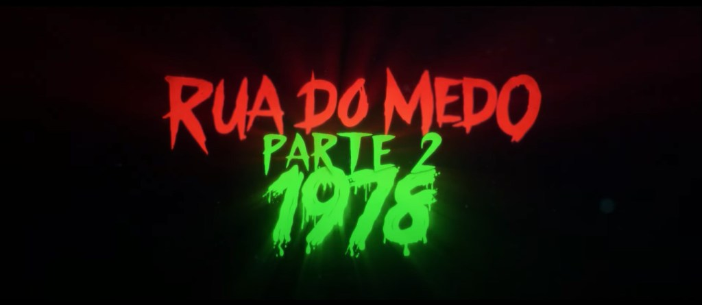poster Rua do Medo parte 2 - 1978 Otageek