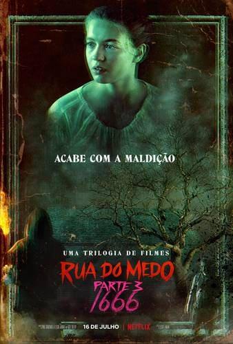 """Pôster de """"Rua do Medo: 1666"""". - Otageek"""