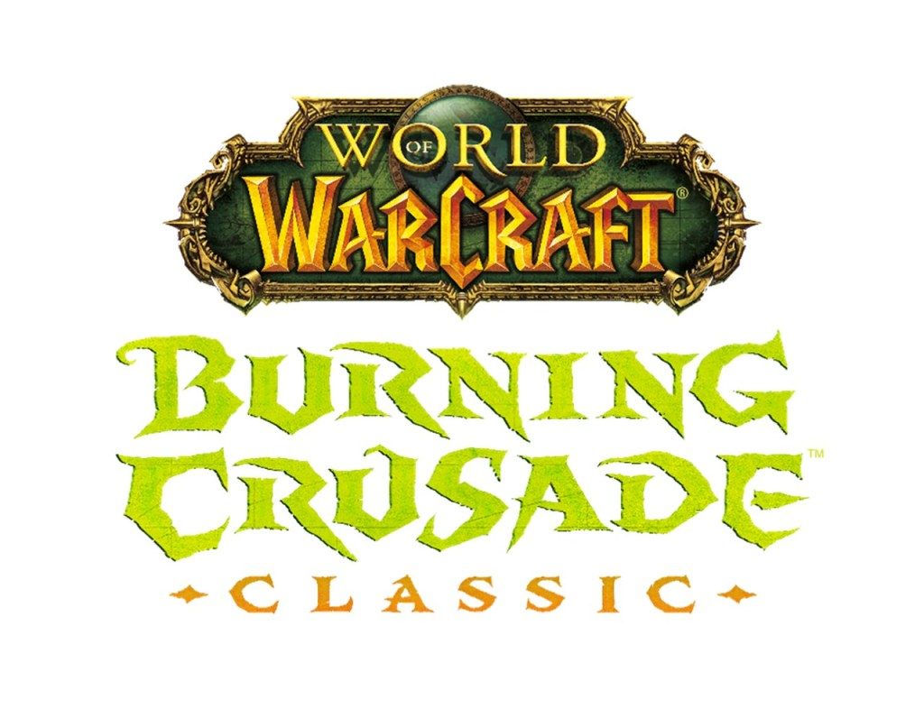 "Logo do jogo ""World of Warcraft: Burning Crusade Classic"", cuja nova fase, ""Lordes Supremos de Terralém"", traz novidades exclusivas para os jogadores"