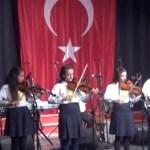 Lütfiye Ali Şadi Çelik Ortaokulu'ndan Türkü Gecesi