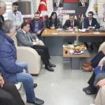AK PARTİ ADANA MV. AHMET ZENBİLCİ'DEN KOZAN İLÇE BAŞKANLIĞINA ZİYARET