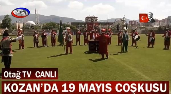19 Mayıs Gençlik ve Spor Bayramı kutlamaları Kozan'da coşkuyla kutlandı