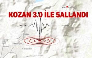 KOZAN 3.0 İLE SALLANDI