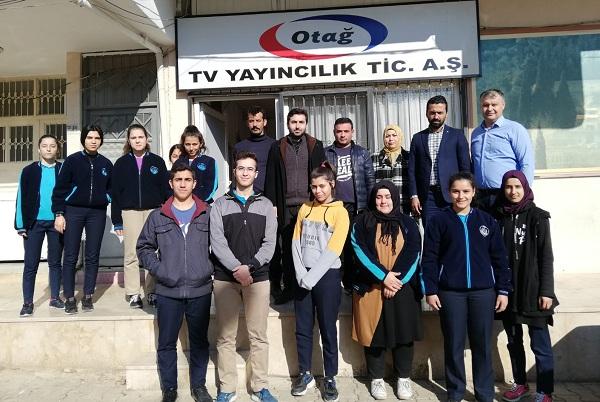 KOZAN 50. YIL ANADOLU LİSESİ ÖĞRENCİLERİ OTAĞ TV ZİYARET ETTİ