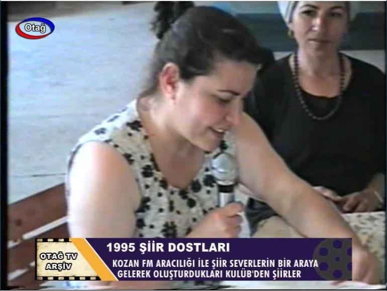 1995 YILI KOZAN ŞİİR DOSTLARI KULÜBÜ