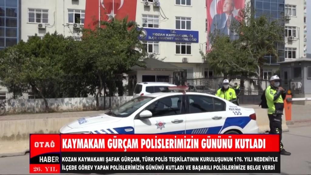 KAYMAKAM GÜRÇAM POLİSLERİMİZİN GÜNÜNÜ KUTLADI