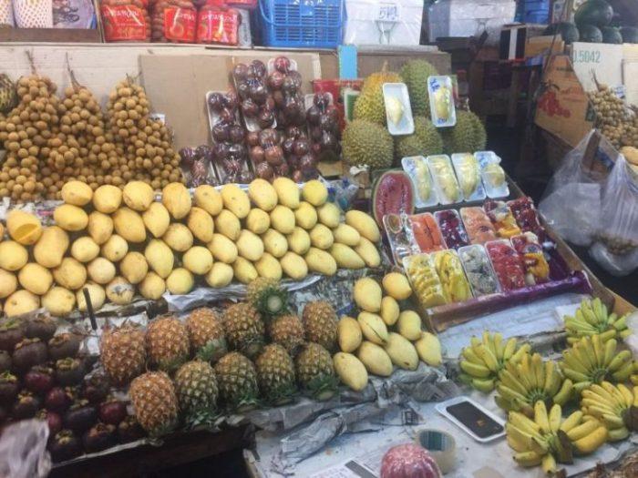 Таиские фрукты