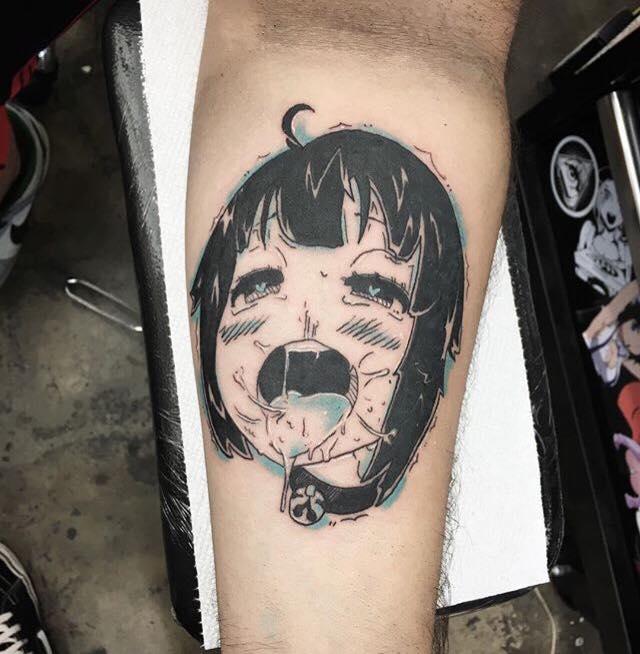 Anime hentai body tattoos pic