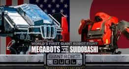MegaBot Vs Kuratas, Pertarungan Dua Robot Gergasi