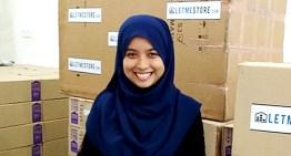 Idea Tubuhkan LetMeStore Tercetus Selepas Noor Syahira Shan Pulang Dari Luar Negara
