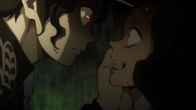 Demon Slayer Kimetsu No Yaiba Episode 8 Muzan Kibutsuji Threatening