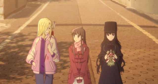 Fruits Basket Episode 8 Tohru Arisa Saki
