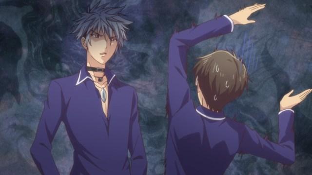 Fruits Basket Episode 12 Dark Haru Versus Student President