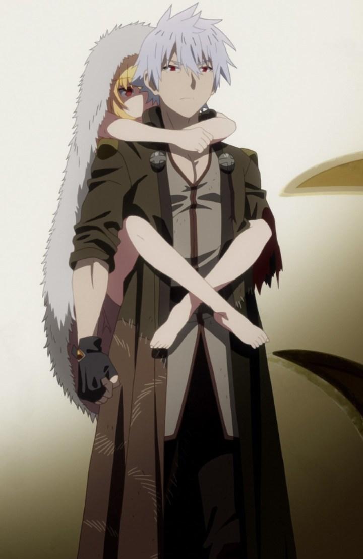 Arifureta From Commonplace to World's Strongest Episode 3 Hajime Carrying Yue