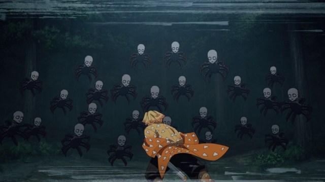 Demon Slayer Kimetsu No Yaiba Episode 17 Zenitsu Under Attack