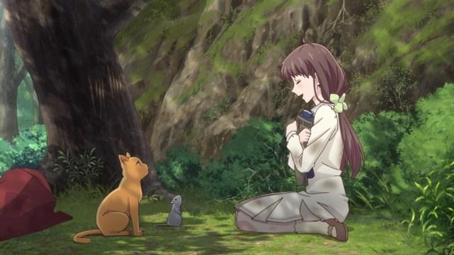 Fruits Basket Episode 15 Tohru Yuki And Kyo Fall