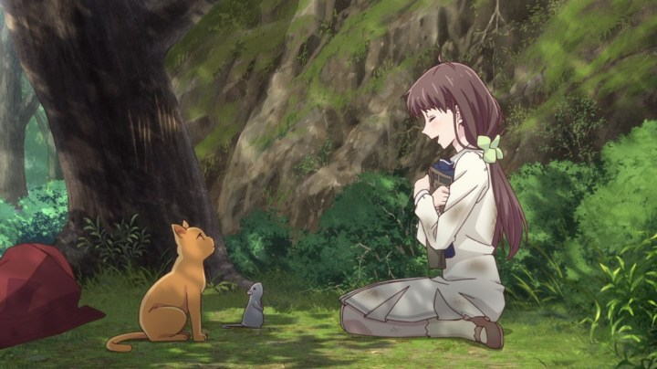 Fruits Basket Episode 15 Tohru Yuki And Kyo Fall