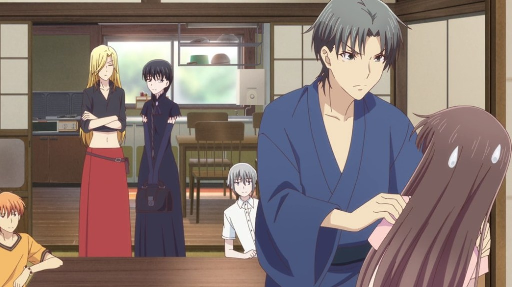 Fruits Basket Episode 16 Shigure Demands Tohru Gets A New Swimsuit
