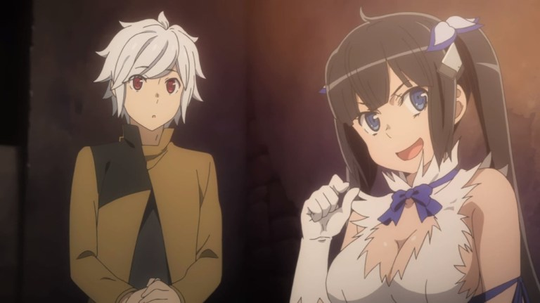 Is It Wrong To Try To Pick Up Girls In A Dungeon II Episode 1 Hestia And Bell