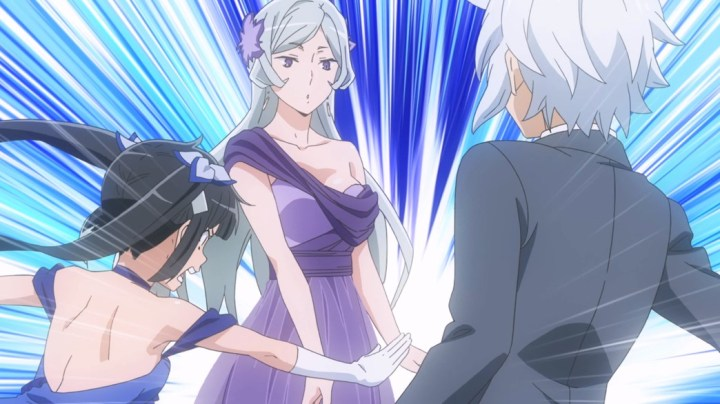 Is It Wrong To Try To Pick Up Girls In A Dungeon II Episode 1 Hestia Getting Between Freya And Bell