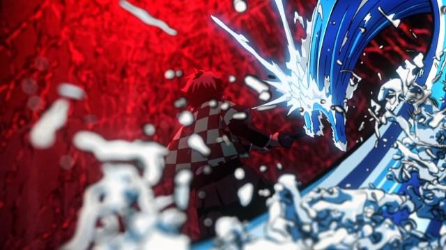 Demon Slayer Kimetsu No Yaiba Episode 19 Tanjiro's Trapped By Rui's Blood Webs