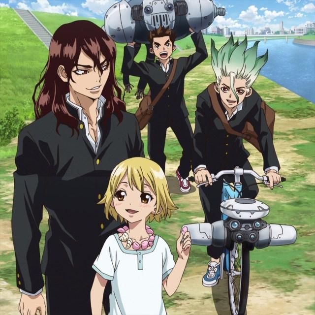 Dr Stone Episode 5 If Taiju Senku And Tsukasa Had Met Before
