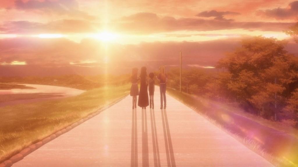 Fruits Basket Episode 22 Tohru Arisa Saki and Megumi