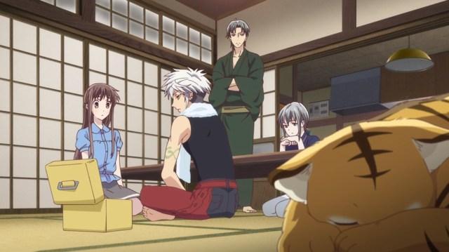 Fruits Basket Episode 18 Tohru Haru Shigure Yuki And Kisa
