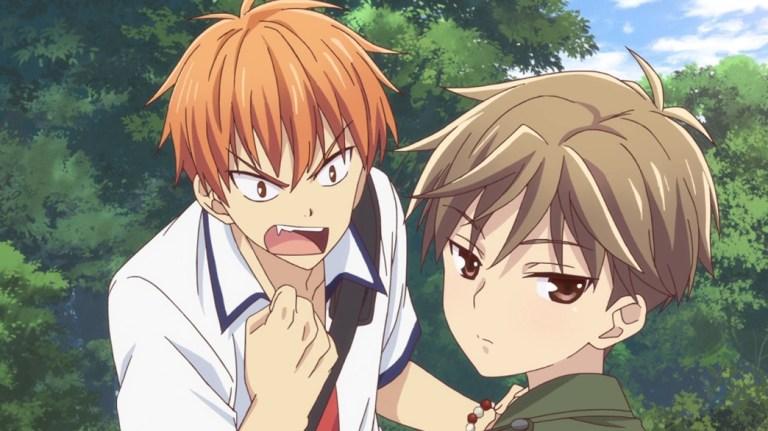 Fruits Basket Episode 20 Kyo Angry At Hiro