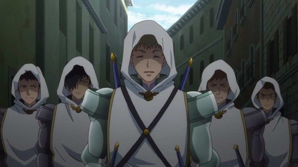 How Not To Summon A Demon Lord Episode 9 Paladin Saddler and his Disciples