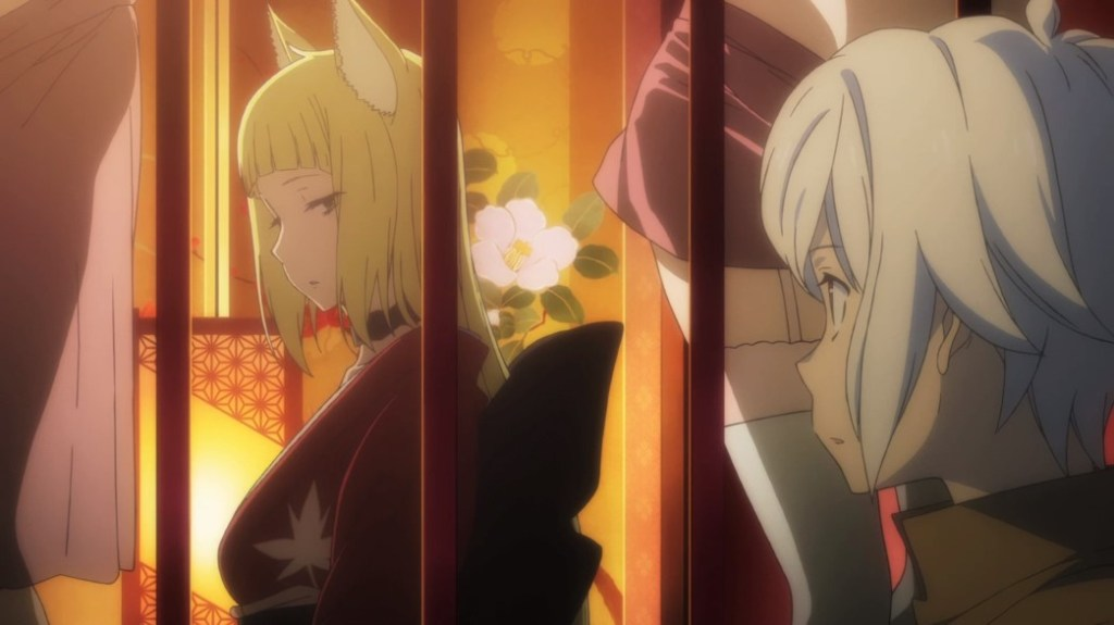 Is It Wrong To Try To Pick Up Girls In A Dungeon II Episode 6 Haruhime Sees Bell