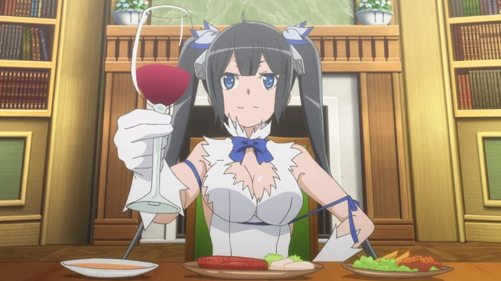 Is It Wrong To Try To Pick Up Girls In A Dungeon II Episode 5 Hestia Celebrates